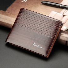Men Walet PU Leather Men Wallet Money Bag Credit Card Holder