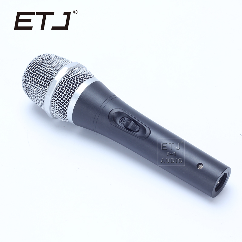 etj brand high quality microphone clear sound handheld wired karaoke microphone b1 in. Black Bedroom Furniture Sets. Home Design Ideas