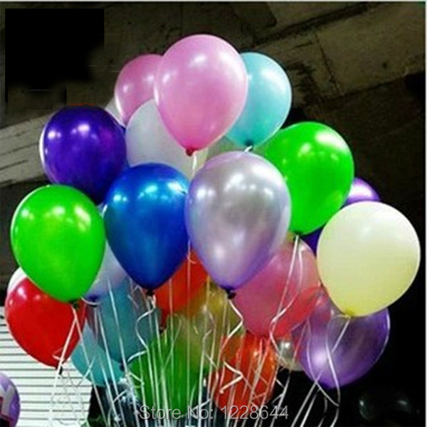 Plain Helium Latex 12 Inch Quality Balloons For Party Wedding