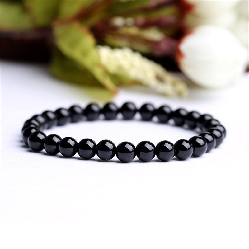 Real Black Tourmaline Bracelet