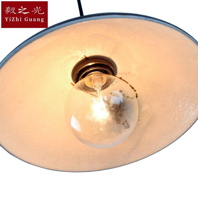 Стильная лампа и фонари лампа Светодиодная подвесная ручная цветная рисованная или узорная лампа для гостиной - 4