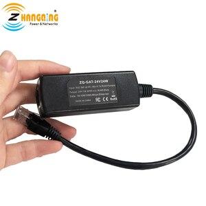 Image 1 - 48 V إلى 24 V PoE تحويل 24 V 24 W ل MikroTik 24 V راوتر PoE جهاز 48 V إلى 24 V من 802.3af