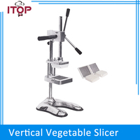 ITOP Chips Cutter Potato Slicer Carrot Vegetable Cutting Machine French Fries