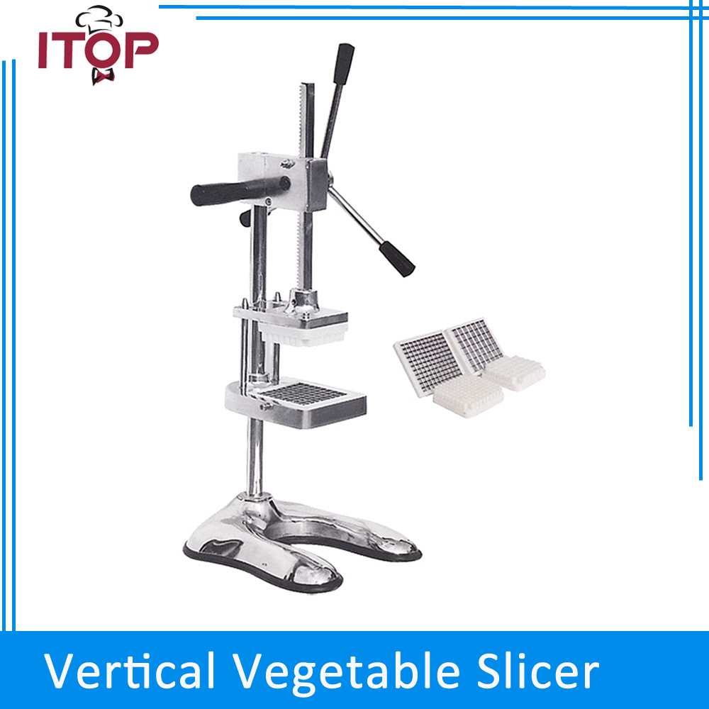 ITOP Chips  Cutter Potato Slicer Carrot Vegetable Cutting Machine French Fries картофелерезка stainless potato chipper french fries slicer chip zesters slicer fg08082 ja