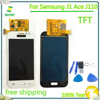 Können Einstellen 4 3 ''TFT J110 LCD Display Mit Touch Screen Digitizer Montage Für Samsung Galaxy J1 Ace J110 J110F j110H J110M
