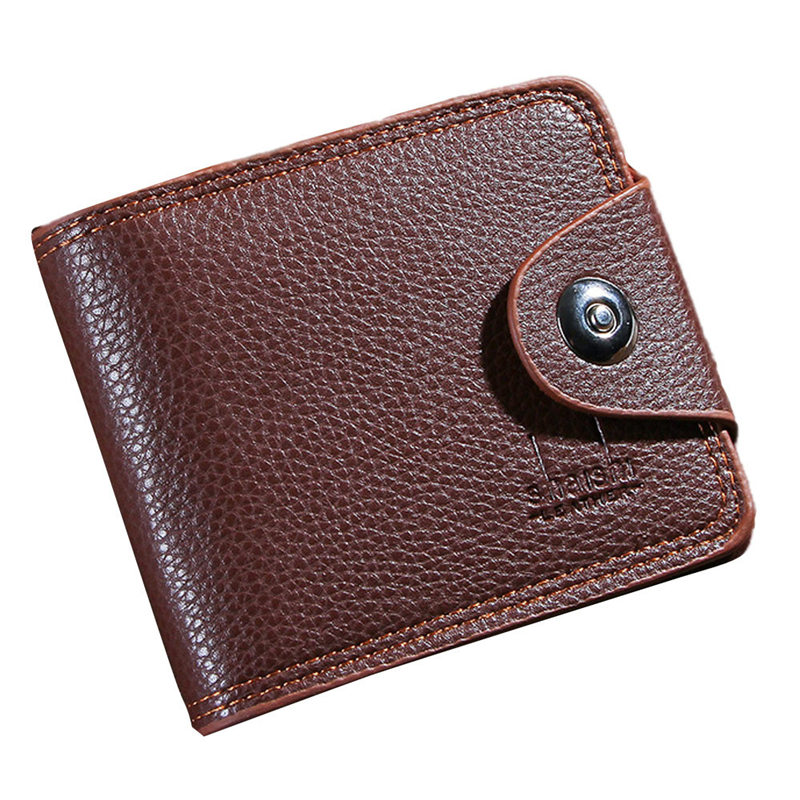 2018 Mens Fashion Leather ID Card Holder Billfold Purse Wallet Handbag Dropship 180223 jasmine fashion retro men leather clutch billfold wallet credit id card slim purse nov4