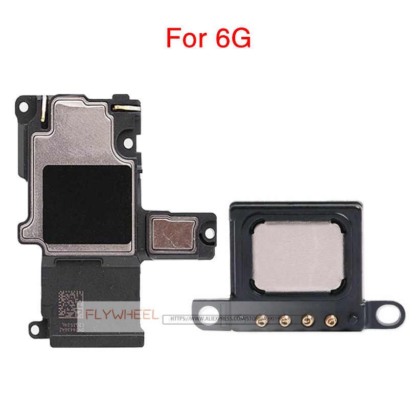 Bộ 1 Loa Còi Loa Ringer Flex Cho iPhone 5S 5C 6 6S 7 8 Plus X XR XS Max Tai Nghe Chụp Tai Bên Trong Thay Thế