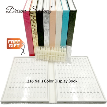 False Nail Color Book Color Display Nail Art Gel Polish Color Card Nail Color Chart Palette Varnish Practice Board Manicure Tool 120pcs false nail art polish palette dot flat manicure nail tips color card uv gel polish display tools 3m double sided stickers