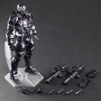Ironman War Machine Play Arts Kai Super Hero Avengers Black Iron man Thanos Action Figure Model Toys PA Kai