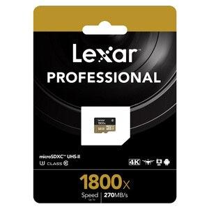 Image 5 - Lexar Micro SD Card 1800x microsd 64GB 32GB 270MB/s sdxc U3 cartao de memoria Class 10 Memory Flash TF Card for smartphone