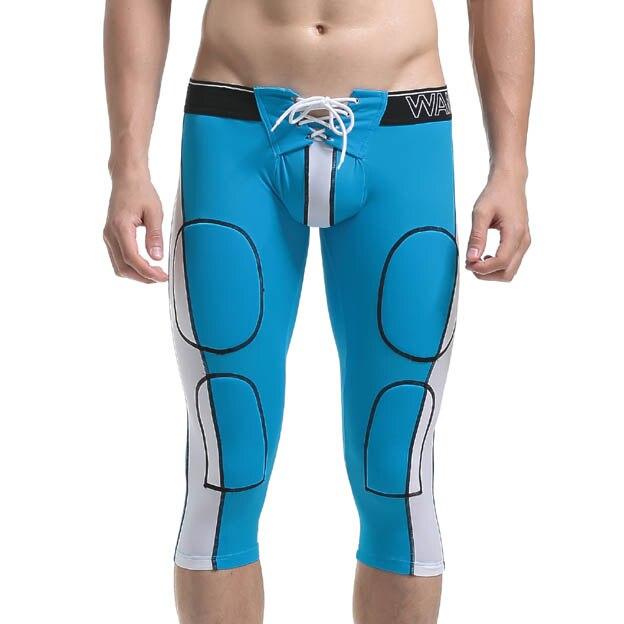 High Elastic Mens Shorts Casual Leisure Fittness Men Shorts Tights Slim fit Shorts Male Short Drawstring