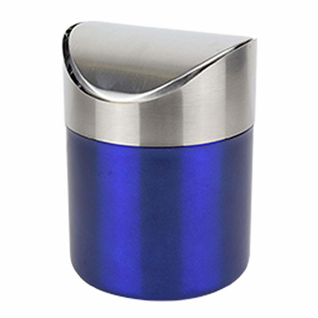 l de mini cocina encimera de acero inoxidable cubo de basura de residuos de basura