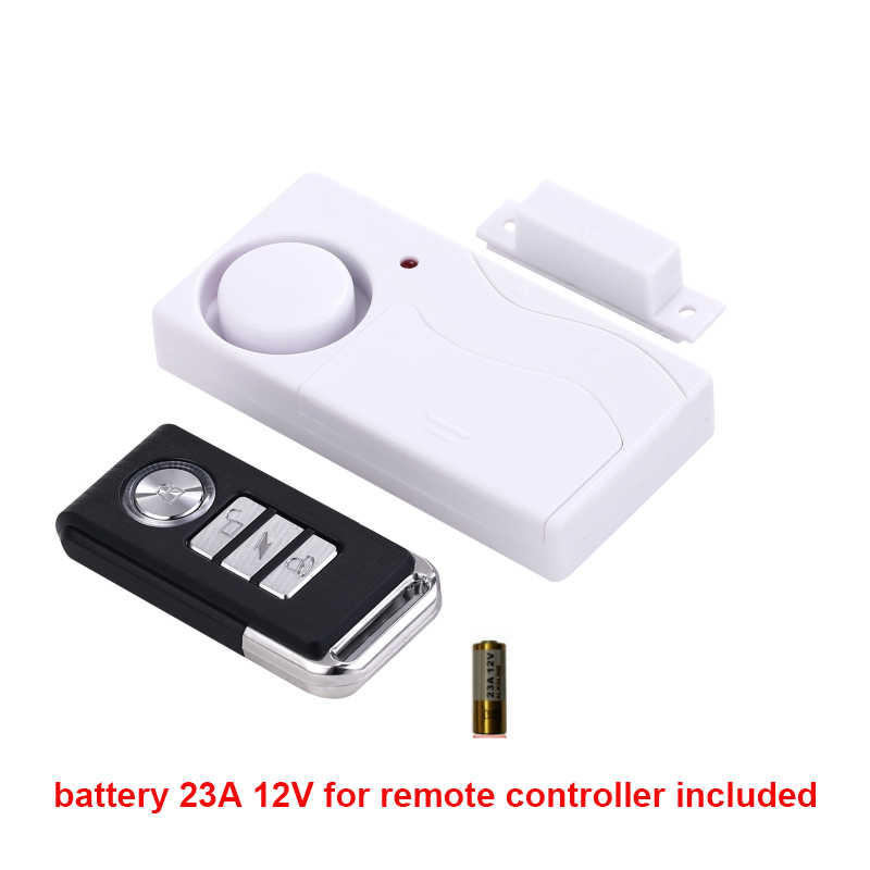 Wireless Remote Control Alarm magnetic Sensor Door Window Car Home House Security Sensor Detector magnet alarm no packing box leshp 105db wireless remote control door vibration alarm sensor door window home security sensor detector with remote control