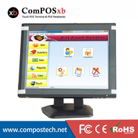 New Product 12 Inch All In The PC Touch Screen Monitor With 360 Degree Rotation For