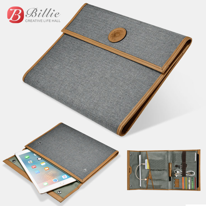 Brand New For iPad Pro 9.7 inch Case Sleeve Protective Carrying for ipad pro 10.5 Fabric Waterproof Multifunction Storage Bags ...
