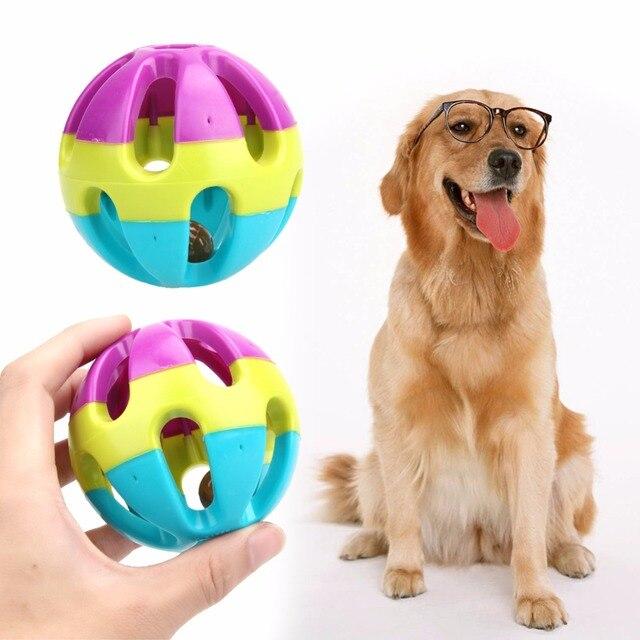 1 pz Palline di Plastica Del Cane Giocattolo Dell'animale Domestico Del Gatto De