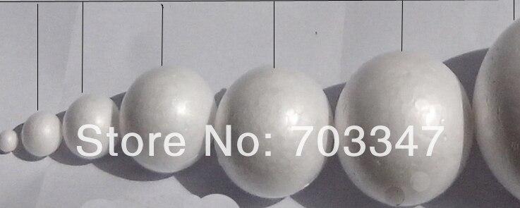 Imamo vse različne kroglice iz stiropora (11 cm) stiroporne okrogle - Prazniki in zabave - Fotografija 3