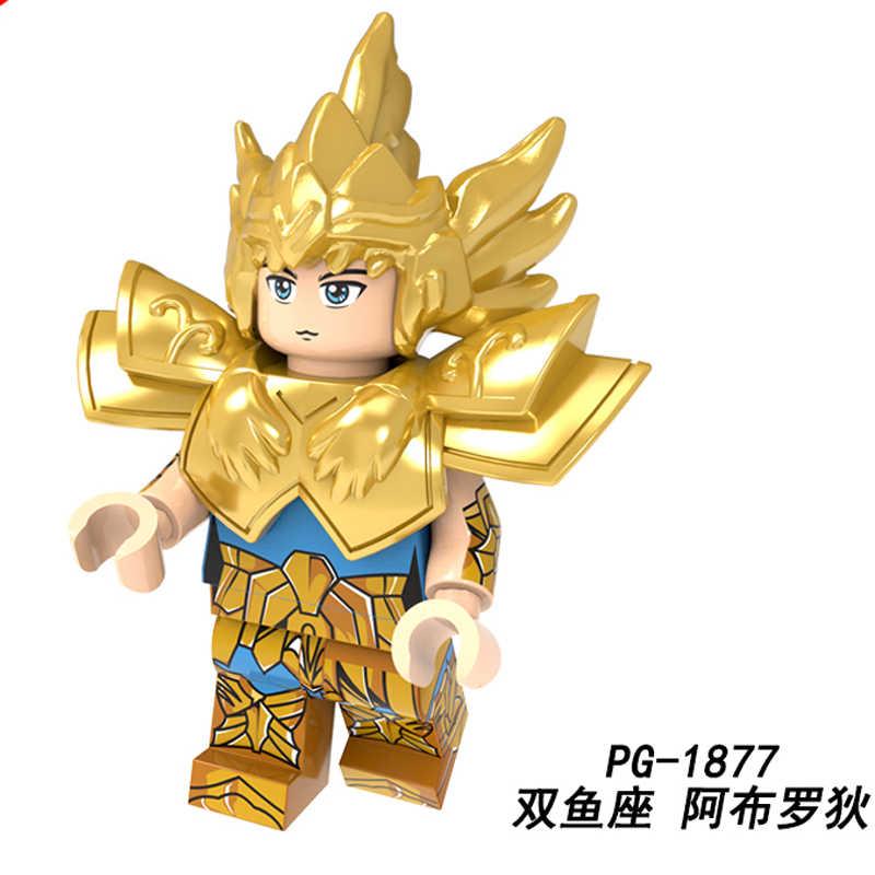 聖闘士星矢シングル販売 Buding ブロック星座蠍座ミロモデルレンガのギフト子供のおもちゃ PG1873