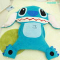 200cm X 220cm Anime Stitch Beanbag Giant Plush Soft Bed Memory Foam Carpet Tatami Sofa Mat Free Shipping