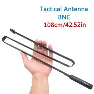 Image 5 - ABBREE BNC 108CM Foldable Tactical Antenna Dual Band 144/430MHz for Kenwood TK200 TK220 TK300 Icom IC V80 IC V82 IC U82 Walkie T