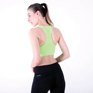 5acb592e03 Breathable Gym Fitness Running Workout Padded Yoga Sports Bra Women
