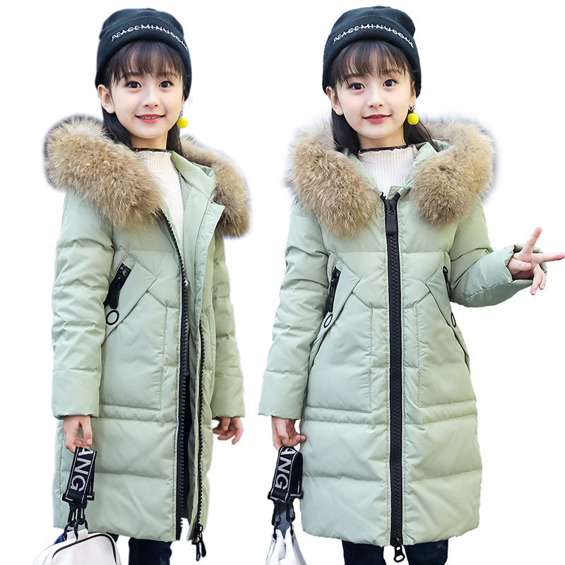 girl winter jackets and coats 2018 kids winter coat solid long setion girls parka coat thicken white duck down children outwear children winter coats 2017 kids winter coat solid big collar hooded girls parka down jackets white duck down kids warm outwear