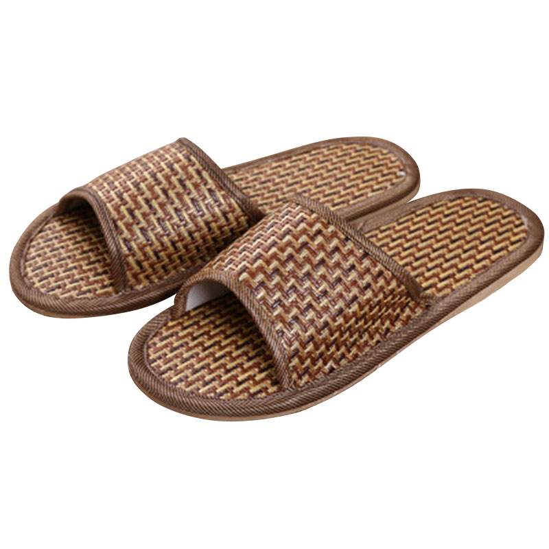 Natural Tropical Vine Lovers Home Slippers Rattan Straw Rivers And Lakes Bamboo Vine Summer Sandals And Slipper 58 2018 natural tropical royal cane couple home slippers rattan straw weave female slippers bamboo rattan summer slippers