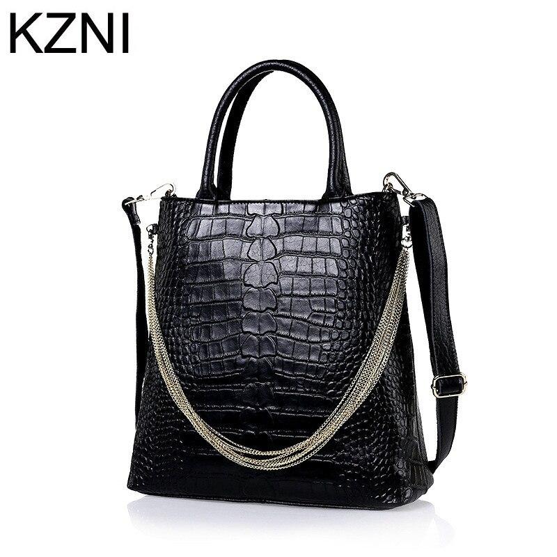 KZNI messenger bag women genuine leather shoulder bag women crossbody bag bolsas femininas bolsas de marcas famosas L122506