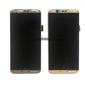 Image 2 - Оригинальный с рамкой AMOLED экран для ZTE Axon 7 A2017 A2017 U A2017 g, ЖК дисплей + дигитайзер сенсорного экрана oled, запасные части