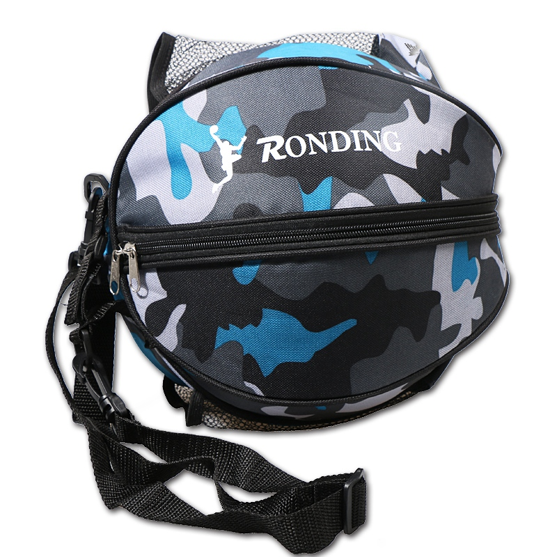 Regail Round Shape Ball Bag Basketball Football Volleyball Sports Shoulder Bag Soccer Carrying Bag for Men Women