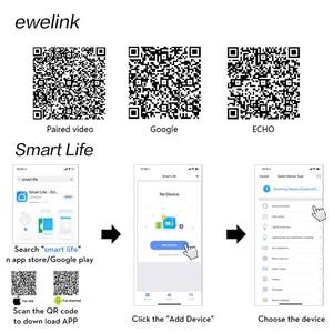 Image 5 - EU Standard Tuya/Smart Leben/ewelink 1/2/3 Gang 1 Weg WiFi Wand Licht Touch Schalter für Google Hause amazon Alexa Voice Control