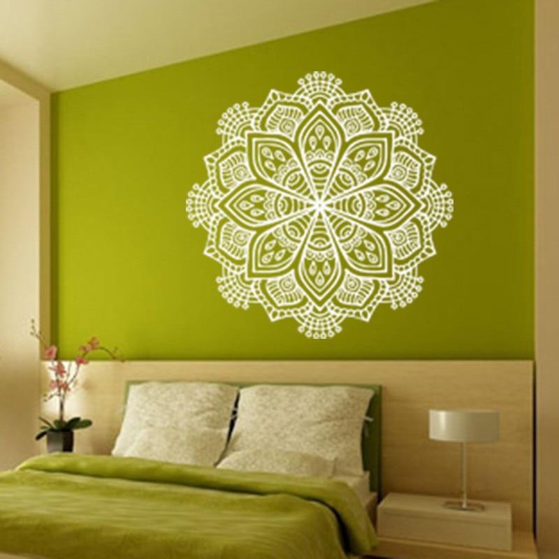 Budističke umjetničke zidne naljepnice Indija Mandala Naljepnice - Kućni dekor - Foto 3