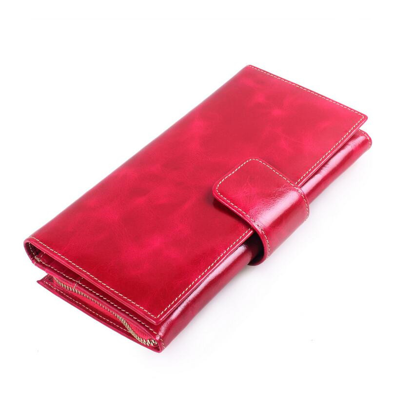 women purse red wallet long id card holder black hand bag brown clutch purse wallet girl  ladies leather wallets gifts for girls auau soft leather women wallets bowknot clutch bag long pu card purse wallet for womens rose red