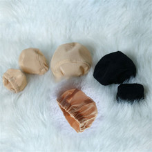 1pcs Handmade BJD/SD Doll Wigs Cap Headgear DIY Fixed-Wig Hairnet for 1/3 1/4 1/6 1/8 1/12 Toy Wig Hat Accessories