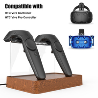 Dual Charger Magnetic Charging Station Charger Stand Holder For VR HTC VIVE or VIVE PRO Wireless Controller Handle Charging