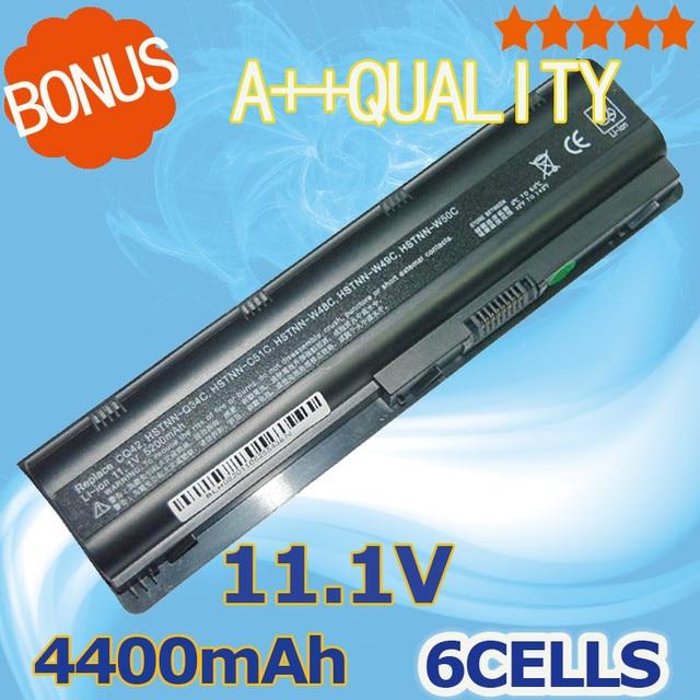 4400mAh Battery for HP Pavilion DV3 DM4 DV5 DV6 DV7 G4 G6 G7 635 for Compaq Presario CQ56 G32 G42 G72 MU06 593553-001 593554-001