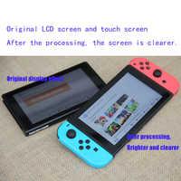 Accesorios para Nintendo Switch, 100% Original para consola NS, pantalla lcd + pantalla táctil, reemplazo de ensamblaje de pantalla completa