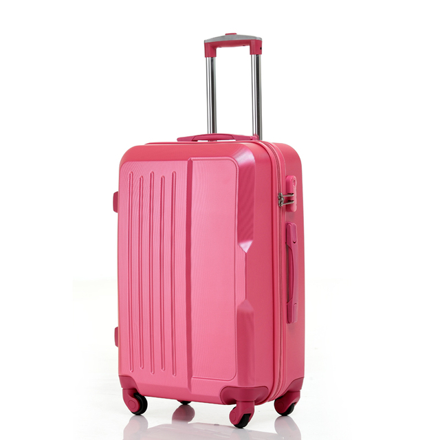 "YISHIDUN 20"" inches Candy colors ABS surface trolley suitcase luggage Bag/Pull Rod trunk /traveller case box with spinner wheels"