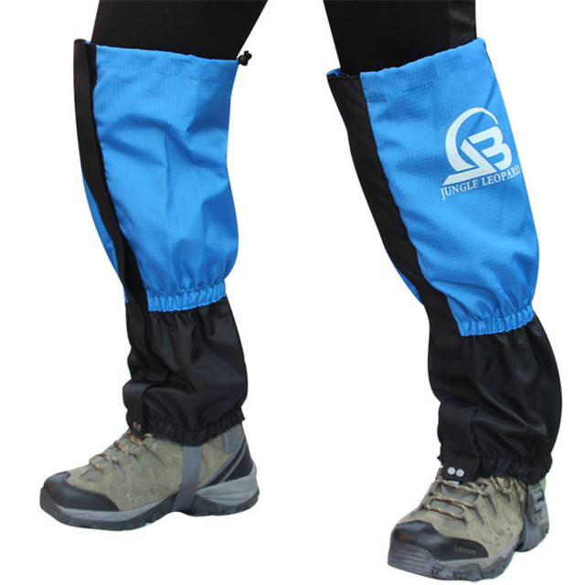 Waterproof Leg Snow Gaiters for Boots Snowshoeing Skiing Climbing Hiking