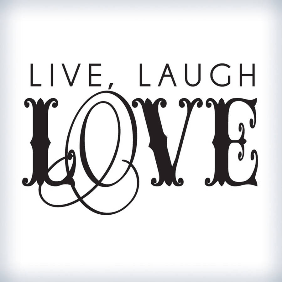 Live Laugh Love Quote Aliexpress  Buy Inspire Home Decoration Large Swirling Live