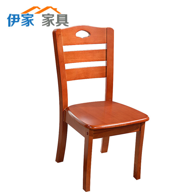 All solid wood dining chair chairs child hotel restaurants furniture rubber  leisure