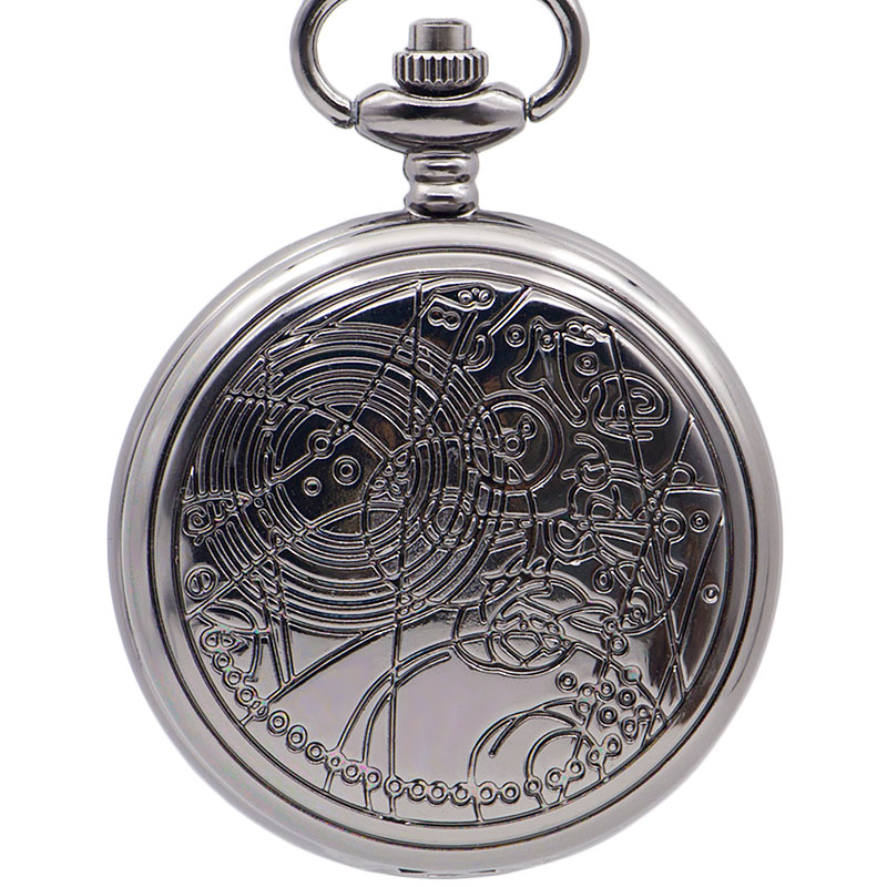 Vintage Retro Who Doctor Pocket Watch Necklace Gifts DROPSHIPPING New Arrival Freeshipping Hot Sale