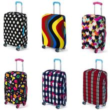 Travel Luggage Suitcase Protective Cover Trolley Case Thicken Dust Covers High Quality Elasticity Travel Box Sets