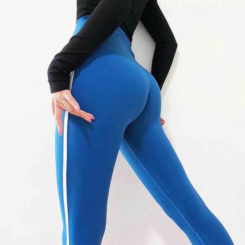 High Waisted Red Moto Fitness Yoga Pants for Women Big Booty Gym Leggings Sports Running Workout Pants Compression Sport Tights 3