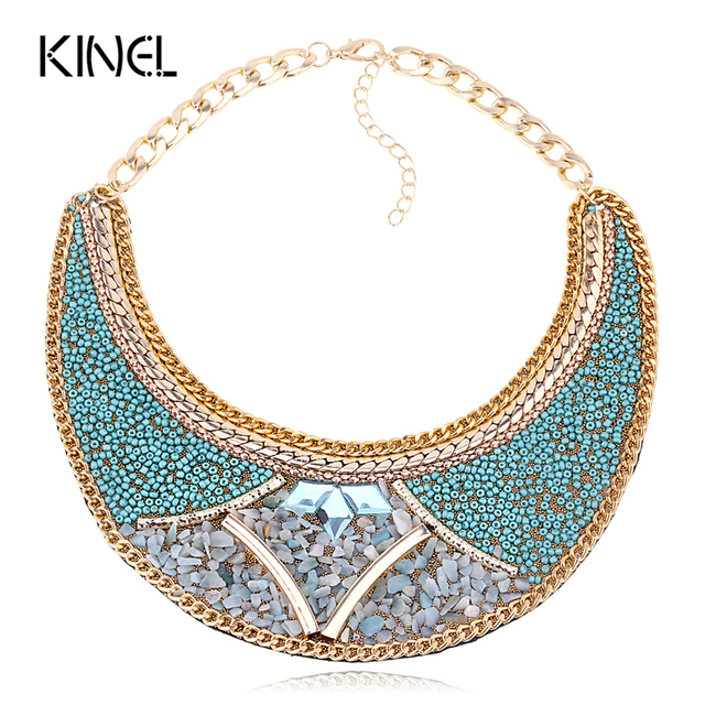 2016 Fashion Punk Starfish Necklaces For Women Accessories Retro Classic Design African Jewelry Chunky Necklace