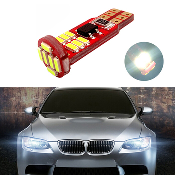 1x New Car LED T10 Canbus W5W No error Wedge Light For BMW E46 E39 E91 E92 E93 E28 E61 F11 E63 E64 E84 E83 F25 E70 E53 E71 E60 image