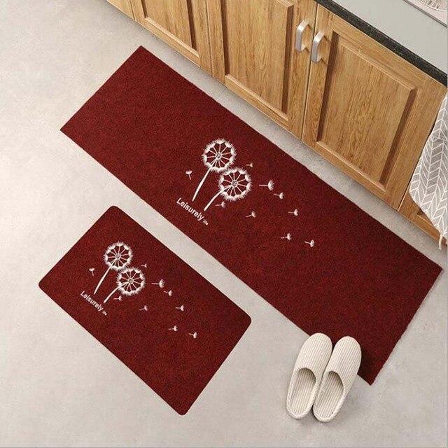 Antypoślizgowa długa mata kuchenna zestaw zmywalny dywanik do sypialni nowoczesna wycieraczka wejściowa dywany do salonu i dywaniki Tapis