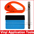 3 in 1 Carbon fiber car sticker installing application tools car styling tool 3m felt squeegee and vinyl cutting tools kit AT004