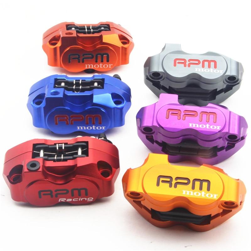 Motorcycle Four Piston brake font b calipers b font pump RPM motor 200mm 220mm for WISP