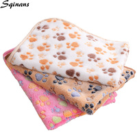 sqinans-pet-dog-mattress-pet-soft-blanket-paw-print-coral-fleece-dog-cat-beds-mats-for-small-medium-large-dogs-cats-pet-supplies